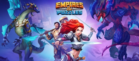Small Giant Games Brings Hero Costumes to Empires & Puzzles (Graphic: Business Wire)
