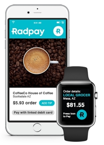 Radpay's Digital Wallet Now Includes Patent-Pending Fraud Resistance (Graphic: Business Wire)