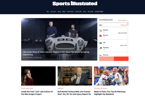 SI's transition to Maven's tech platform dramatically improved user experience. (Photo: Business Wire)