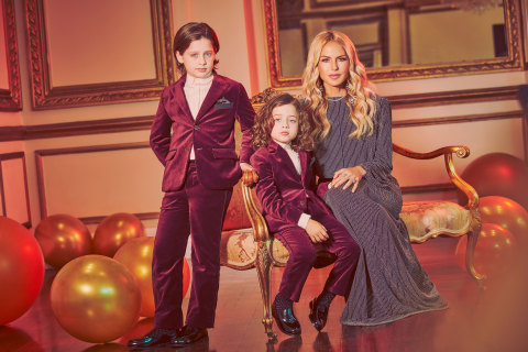 Janie and Jack partners with designer and entrepreneur Rachel Zoe to launch holiday party collection that gives back (Photo: Business Wire)