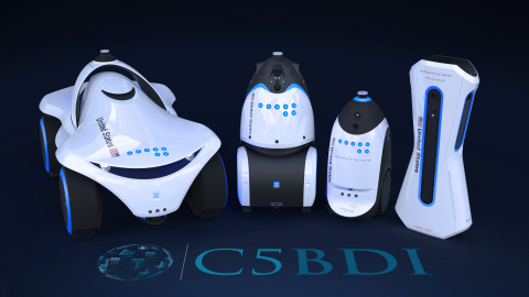 Knightscope Kicks Off Federal Government Initiative with C5BDI (Photo: Business Wire)