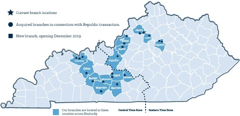 Limestone Bank Branch Locations (Photo: Business Wire)