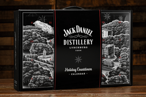 Jack Daniel's wants to help you countdown to the holidays with its Jack Daniel's Holiday Calendar, featuring various 50ml bottles from the Jack Daniel's family of brands as well as additional premium items. (Photo: Business Wire)