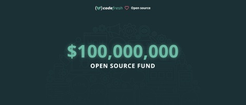 Codefresh announced the establishment of a $100 Million Open Source Fund to foster the growth and expediency of open source projects from development and deployment to ongoing maintenance. (Graphic: Business Wire)