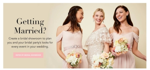 Adrianna Papell Adds Virtual Bridal Showroom to Website (Photo: Business Wire)
