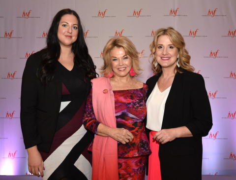 L to R: Marijana Klapcic, Manager Communications, Public Relations & Creative Marketing, MK Canada; Pat Mitchell, author Becoming a Dangerous Woman; Michelle Haurilak, Director, Public Relations, Digital & Product Marketing, MK Canada (Photo: Mary Kay Inc.)