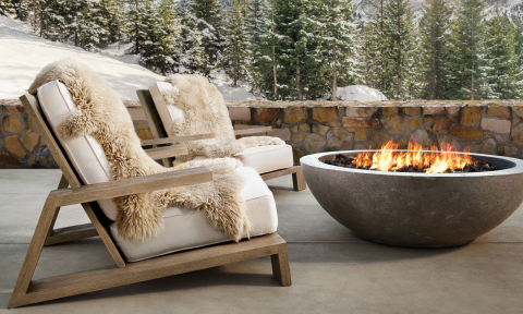 RH SKI HOUSE 2019 INTRODUCES THE OLEMA OUTDOOR COLLECTION (Photo: Business Wire)