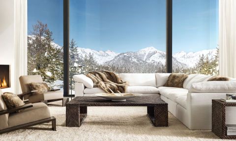 RH SKI HOUSE 2019 INTRODUCES THE KENDARI COLLECTION BY TIMOTHY OULTON (Photo: Business Wire)