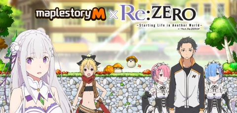 MapleStory M Re:ZERO Crossover (Graphic: Business Wire)