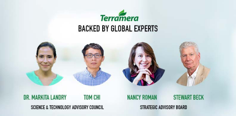 Terramera announced that Dr. Markita Landry and Tom Chi have joined Terramera's Science & Technology Advisory Council while Nancy Roman and Stewart Beck round out its Strategic Advisory Board. (Graphic: Business Wire)