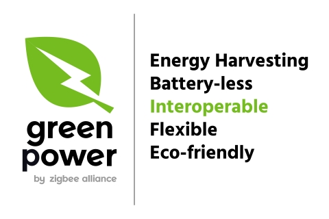 The Zigbee Alliance's Green Power gets new branding and certification measures. (Graphic: Business Wire)