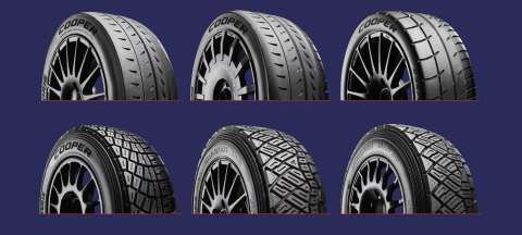 クーパー・タイヤ・ヨーロッパは本日、幅広い新たなラリー・タイヤ製品レンジを発売しました。無数の用途と多様なレベルのラリー競技に対応した超高性能と信頼性を提供します。(写真:ビジネスワイヤ)