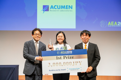 Acumen Research Labs, the first prize winner (Photo: Business Wire)