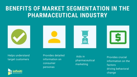Market segmentation in the pharmaceutical industry. (Graphic: Business Wire)