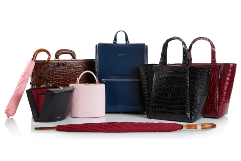 Bucklesbury Is A British Leather Bag & Umbrella Maker (Photo: Business Wire)