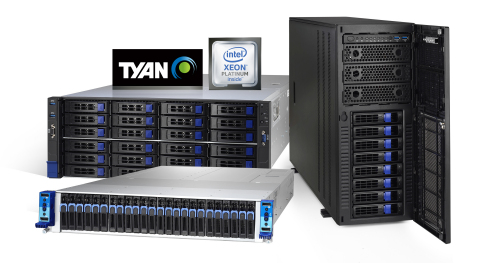 TYAN HPC Server Platforms Boost Performance with 2nd Gen Intel Xeon Scalable Processors for Enterprises and Data Centers (Photo: Business Wire)