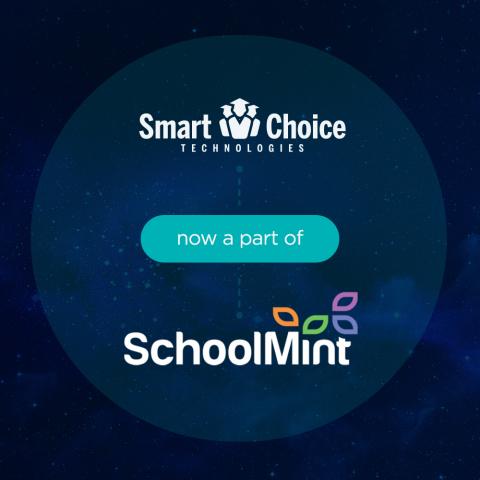 SchoolMint and Smart Choice serve educators throughout the U.S. with solutions that help them to more effectively attract, enroll and retain nearly 9 million students. (Graphic: SchoolMint)