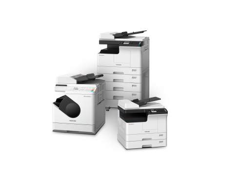 New Toshiba A3 Multifunction Printer Family Ideal for Small-to-Medium Businesses (Photo: Business Wire)