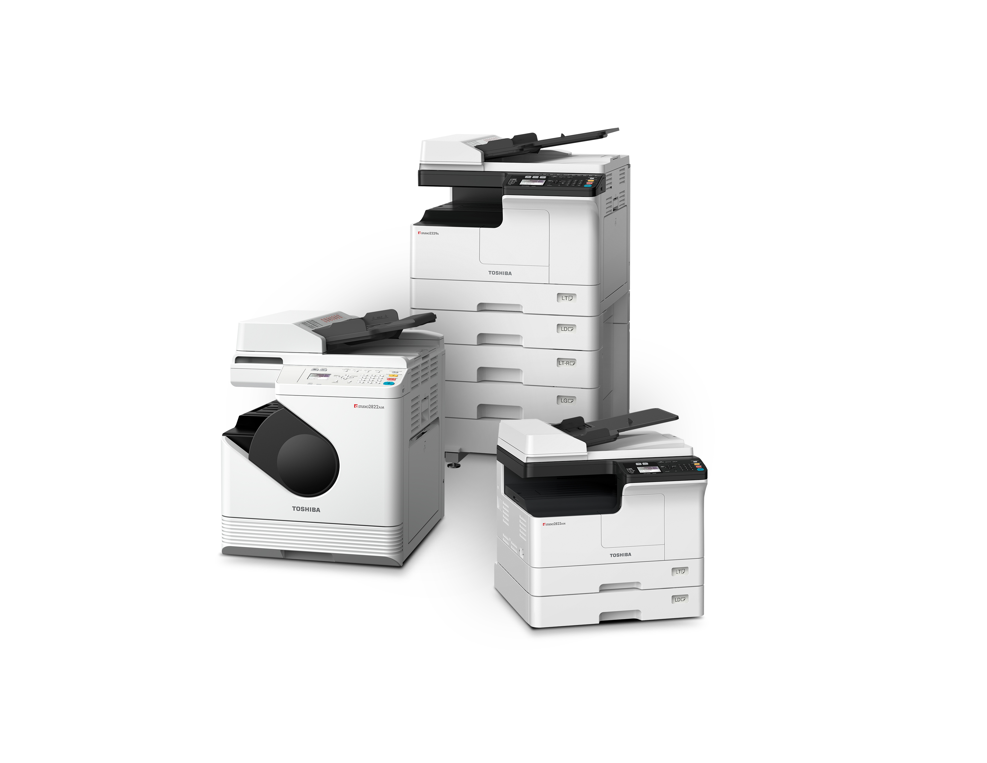 Image result for NEW TOSHIBA A3 MULTIFUNCTION PRINTER FAMILY IDEAL FOR SMALL-TO-MEDIUM BUSINESSES Monochrome Print Fleet Couples Ledger-size Capability in a Compact Footprint Giving SMBs the Performance They Demand, While Being Easy on Space