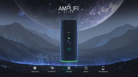 Ubiquiti Introduces AmpliFi Alien, A True Gigabit Whole-Home Wi-Fi 6 Experience Available Now (Graphic: Business Wire)
