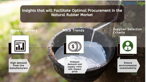 Global Natural Rubber Market Procurement Intelligence Report. (Graphic: Business Wire)