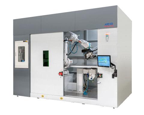 アレボの3D印刷システム「アクア」が超高強度・軽量の3D印刷複合部品をオンデマンドで生産。(写真:ビジネスワイヤ)