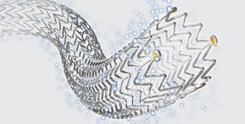 Zilver® PTX®, Cook Medical's paclitaxel-coated stent (Photo: Business Wire)