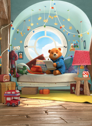 Nickelodeon's brand-new animated preschool series The Adventures of Paddington premieres Monday, Jan. 20, at 12:30 p.m. (ET/PT). (Photo: Business Wire)