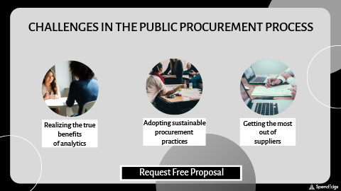 Challenges in the Public Procurement Process. (Graphic: Business Wire)