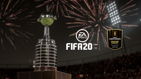 South America's Most Prestigious Club Tournament, CONMEBOL Libertadores, Available Exclusively in FIFA 20 in March 2020 (Graphic: Business Wire)
