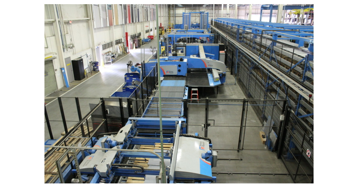 Rubbermaid To Hold Industrial Auction of Virginia-Based Metal Fabrication Facility Equipment