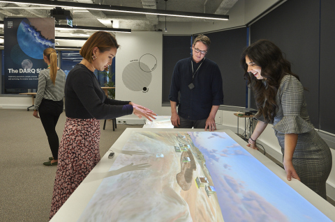 "Accenture's ""DARQ mine"" demo features as part of the experiences on offer at Accenture's new innovation hub in Perth, Western Australia (Photo: Business Wire)"
