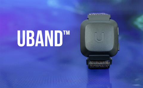 Know Labs unveils new UBAND design and smartphone app (Photo: Business Wire)