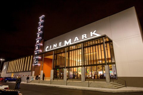 The new 12-screen Cinemark Willowbrook Mall and XD theatre opens Nov. 21 featuring an XD auditorium and Luxury Lounger reclining seats. (Photo: Business Wire)