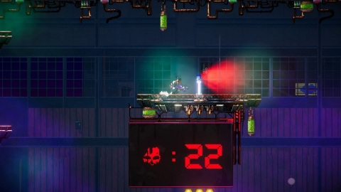 Black Future '88 is a synth-punk roguelike 2D action shooter. (Graphic: Business Wire)