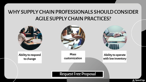 Why Supply Chain Professionals Should Consider Agile Supply Chain Practices? (Graphic: Business Wire)
