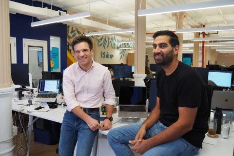 Rhino CEO Paraag Sarva and Rhino Director of Public Policy Jordan Stein (Photo: Business Wire)