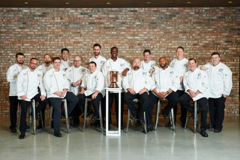 On November 20, Aramark's top chefs competed in the 2019 National Team Finals of the Aramark Culinary Excellence Competition, won by the Sports & Entertainment team. (Photo: Business Wire)