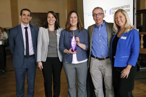 Shlomy Kattan, Lara Pimentel, Michele Diecuch, Kevin Morgan, Michelle Bellso. (Photo: Business Wire)