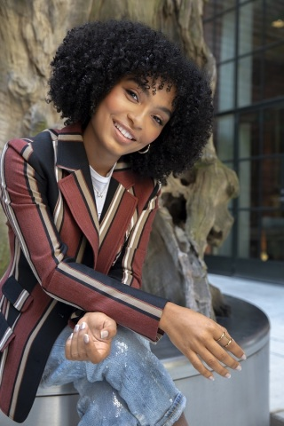 Yara Shahidi, acclaimed actress, producer, and change agent joins ANA SeeHer Advisory Board (Photo: Joshua Peters)