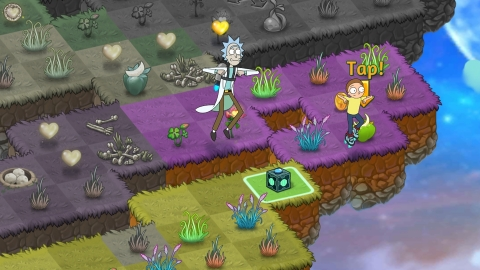 Rick and Morty Get Schwifty in Zynga's Hit Game, Merge Dragons! (Graphic: Business Wire)