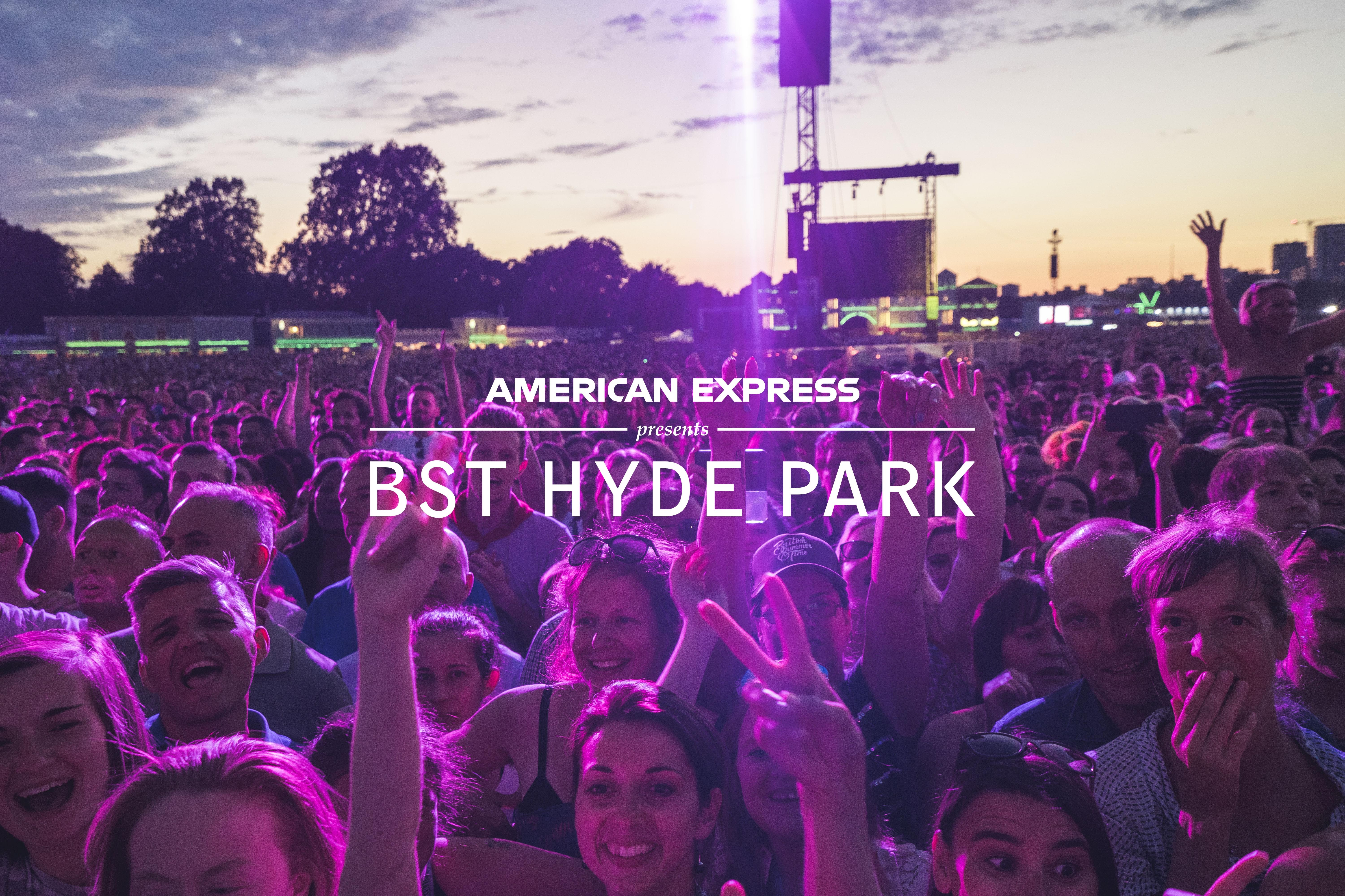 Aeg Global Partnerships Announce American Express As Presenting Partner For Bst Hyde Park 2020 Business Wire