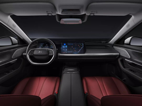Xpeng P7 smart audiovisual cockpit (Photo: Business Wire)