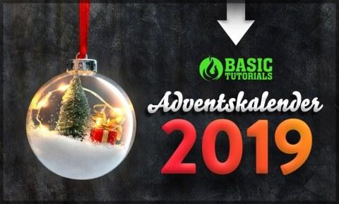 Basic Tutorials Adventskalender: Täglich großartige Technik- & Gaming-Gewinne