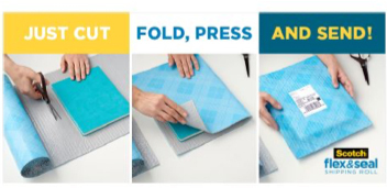 How to Use Scotch™ Flex & Seal Shipping Roll