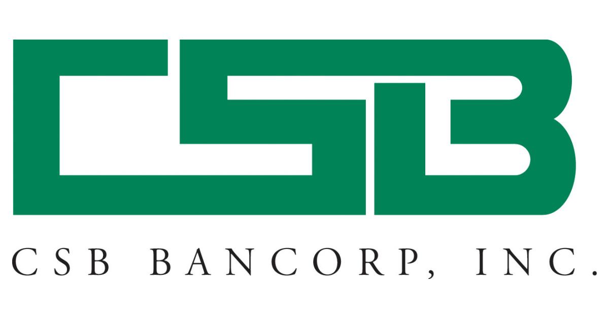 CSB Bancorp, Inc. Declares Fourth Quarter Cash Dividend