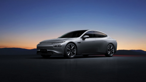 Xpeng P7 sports sedan (Photo: Business Wire)