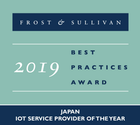2019 Japan IoT Service Provider of the Year (Graphic: Business Wire)