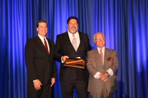 """Alliant's Larry McMahon has been named 2019 """"Good Scout of the Year"""" by the Boy Scouts of America, San Diego-Imperial Council. The award is presented annually to an industry leader that has made a significant impact in both business and the greater community. (Photo: Business Wire)"""