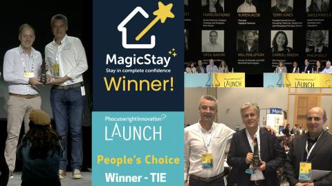 Un prix exceptionnel pour une équipe exceptionnelle ! #MagicTeam (Photo: Business Wire)
